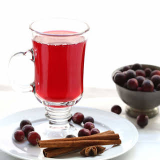 Easy Mulled Cranberry Juice.