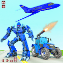 Tractor Robot Lion Transformation Car Robot Games icon