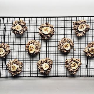 Banana Oat Energy Cookies