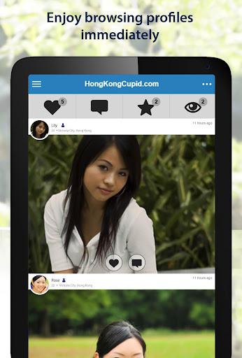 HongKongCupid - Hong Kong Dating App 3.1.7.2496 Screenshots 6
