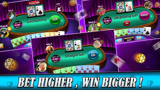Gin rummy free Online card game painmod.com screenshots 3