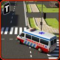 Ambulance Rescue Simulator 3D icon