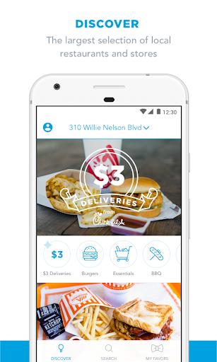Favor Delivery, Get Food Fast  screenshots 4