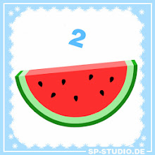 Photo: Christmas Special, day 2: watermelon slice