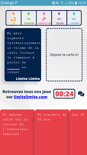Limite Limite Android App Screenshot