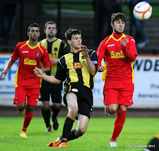 Photo: Berwick Rangers Football Club v Dunfermline Athletic Football Club - Pre Season Friendly Dunfermline had 7 trialists in their squad, 2 of which picturedAt Shielfield Park, Berwick24/07/2012Craig Brown | StockPix.eu