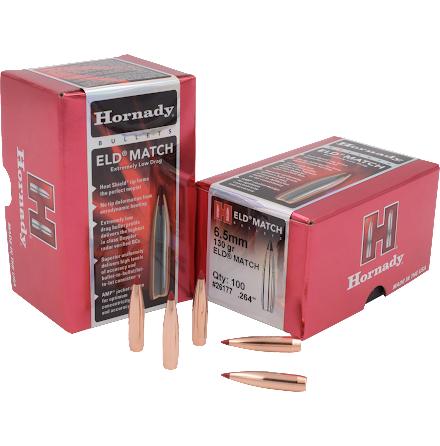 Hornady ELD match 6,5mm 130gr 100st