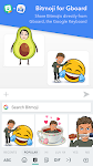 screenshot of Bitmoji – your personal emoji