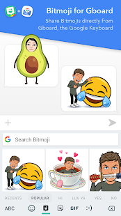 Bitmoji – your personal emoji Screenshot