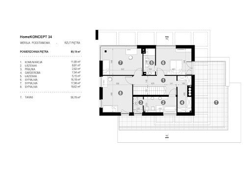 Koncept-34 - Rzut piętra