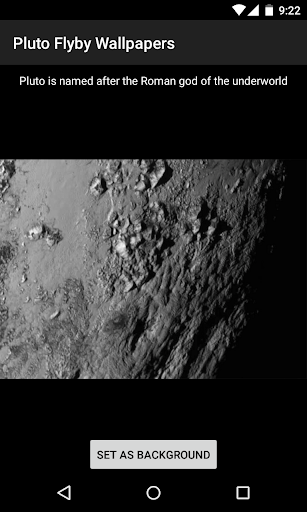 Pluto Flyby Wallpapers
