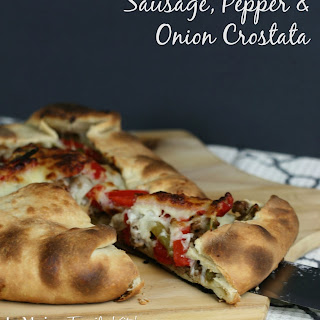 Sausage, Pepper & Onion Crostata