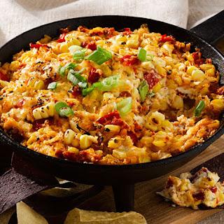 Fire Roasted Corn and Chorizo Dip.