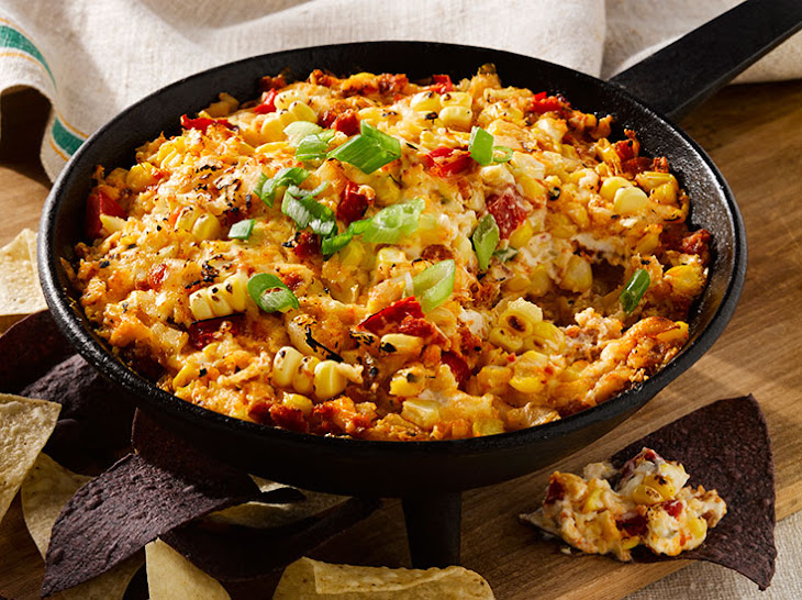 Fire Roasted Corn and Chorizo Dip Recipe