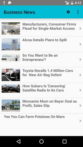 玩免費新聞APP|下載ビジネスニュース app不用錢|硬是要APP