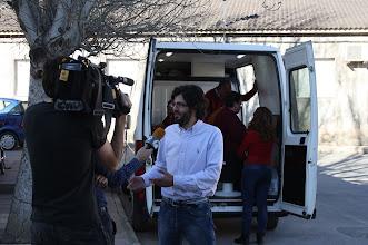 Photo: entrevistado por informativos Antena 3 para #viveconectados #CCD, foto de @psemitiel