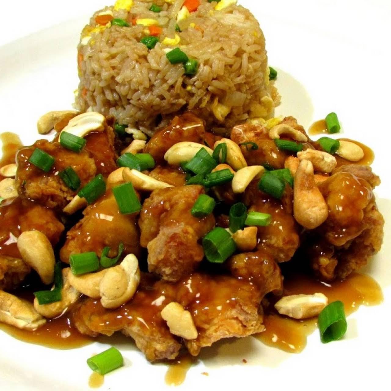 Springfield Style Cashew Chicken (copy cat recipe) - Leongs Tea House