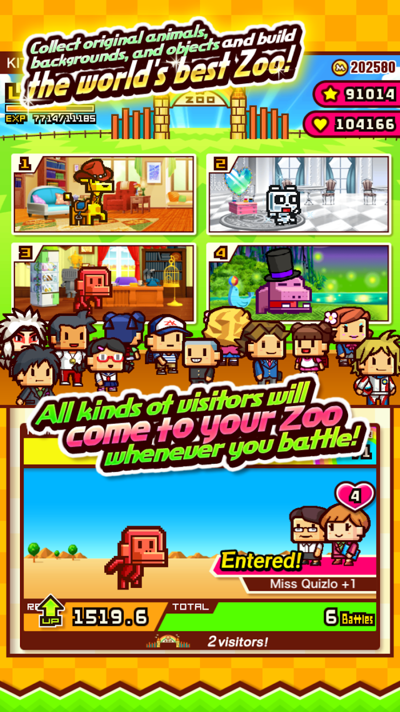 ZOOKEEPER BATTLE Screenshot 2