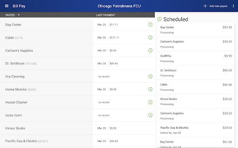 Chicago Patrolmen's FCU screenshot 13