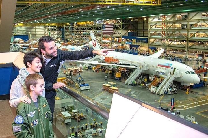 Boeing Future of Flight Tour in Seattle