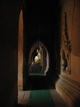 Photo: Tunnel inside Htilo Minlo temple