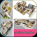 3D House Plan Ideas icon