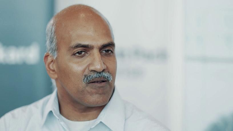 Partha Narasimhan, CTO of Aruba Networks.