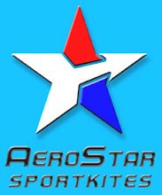 Photo: Paul Shirey of AeroStar Sportkites held a contest to design a new logo for his kite building. This was my entry and it won. He gave me the idea accidentally in a phone call when he told me that he constantly got mail for Arrow Star. The idea just popped in my head.
