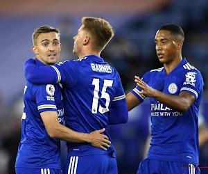 🎥 Premier League : Praet buteur, Castagne donneur d'assist et Leicester vainqueur contre Burnley
