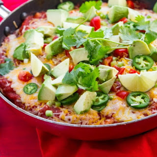 Easy Turkey Enchilada Skillet