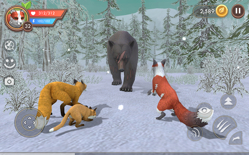 WildCraft: Sim sauvage en ligne 3D  captures d'écran 2