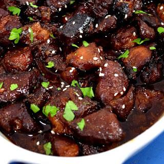 Garlic Pork Bites Recipes