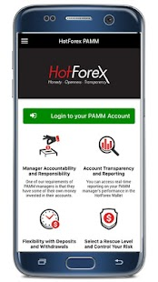 Hotforex pamm performance
