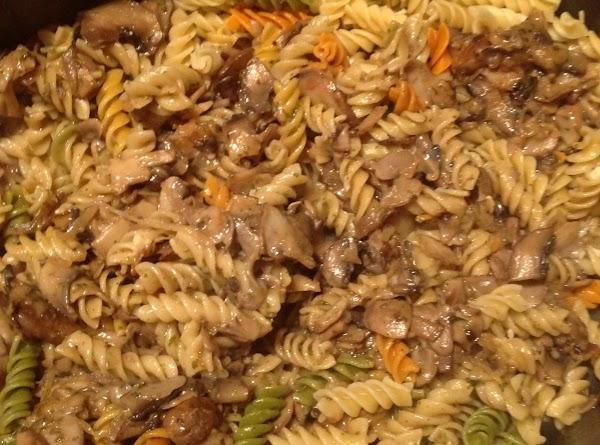 Three Mushroom Pasta Recipe