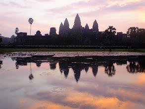 Photo: Angkor Wat at sunrise