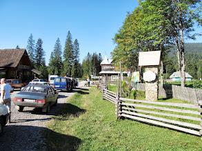 Photo: 02.Wjazd do Karpackiego Parku Narodowego. Z tego co pamiętam biorą coś ok. 20 hrywien od łebka.