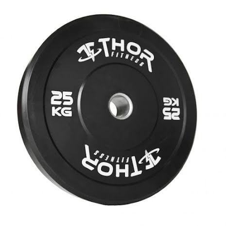 Thor Fitness Bumper Plates - 25kg