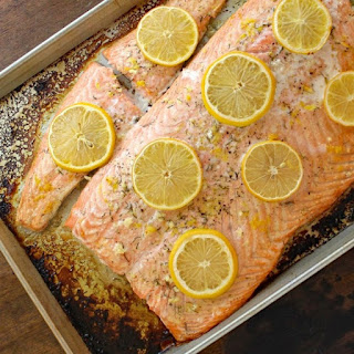 Baked Salmon With Lemon Juice Olive Oil Recipes