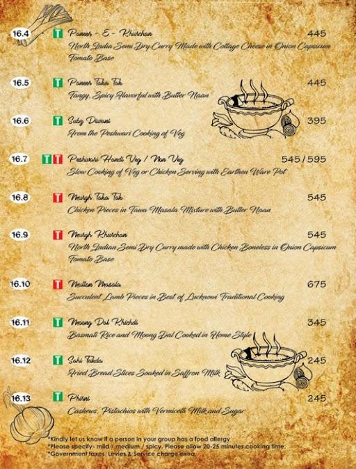 Ttamaasha Bistro Bar menu 4