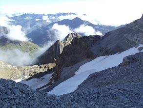 Photo: La glacera del Taillón, vista des de dalt