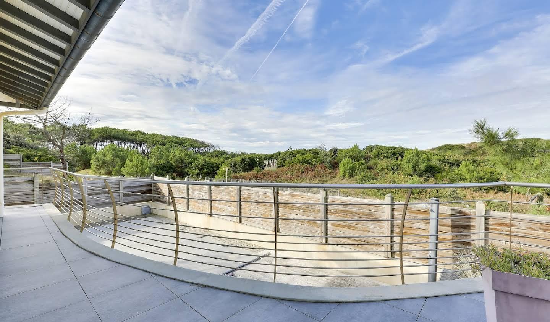 Villa avec piscine en bord de mer Capbreton