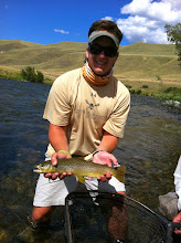 Photo: Charlie Houk on the Madison River- MRO Montana Trip 2012