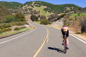 Photo: Open roads greeted the collegiate men.