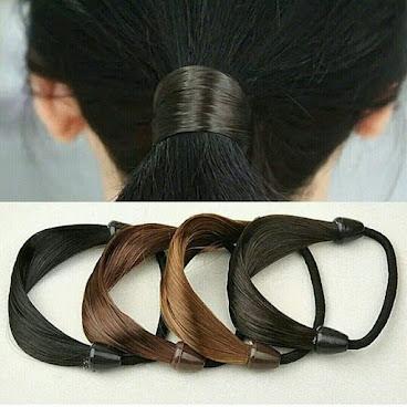 假髮橡筋圈