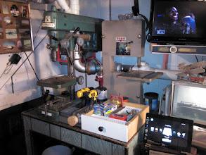 Photo: Downstairs workshop