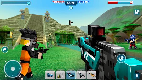 Blocky Cars Online Mod Apk 7.7.1 (Unlimited Ammo + God Mode) 4