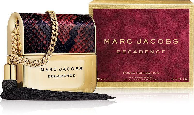 Marc Jacobs Decadence Rouge Noir EDP limited edition, 100ml, R1,685