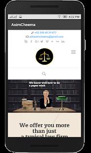 Asim Cheema Advocate - náhled