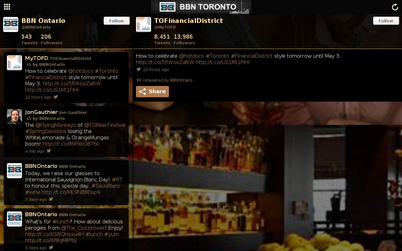 BBN Toronto- screenshot