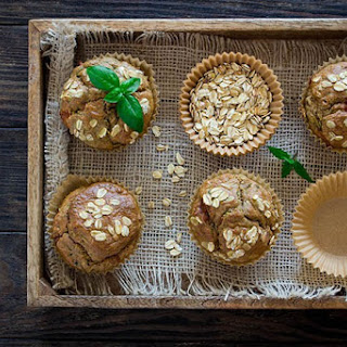 Healthy Zucchini Spice Muffins